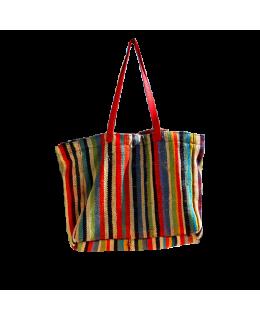 Fabric handbag