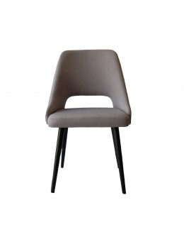 Rounded chair retro style