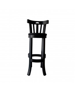 Bar stool in wood and...