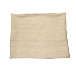 Beige woolen pillowcase