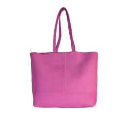 Large leather bag (suede)