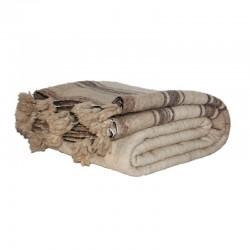 Couverture en laine avec...