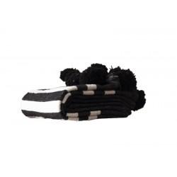 Black woolen blanket with...
