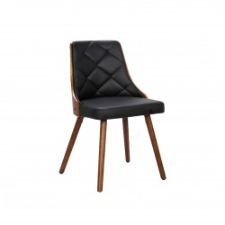 Elegant chair in leather...