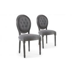 Chaise vintage arrondie