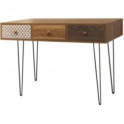 Elegant vintage pine console