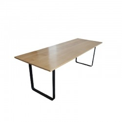 Solid beech dining table...