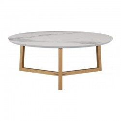 Coffee table in beech and...