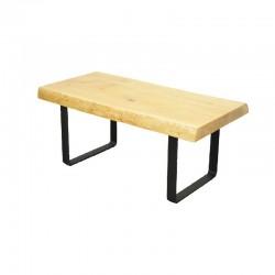 Table basse en chêne massif