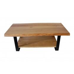 Table basse en chêne massif...