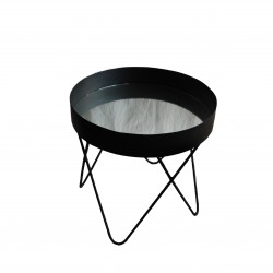 Wrought iron coffee table...