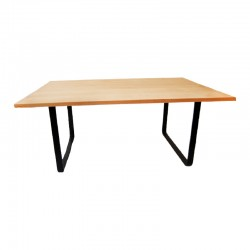 Coffee table in solid beech